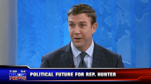 Rep. Duncan Hunter Lets Loose in TV Interview – Progressive Activist Calendar, January 6-16, 2018
