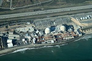 Aerial view of San Onofre Nuclear Generating Stations