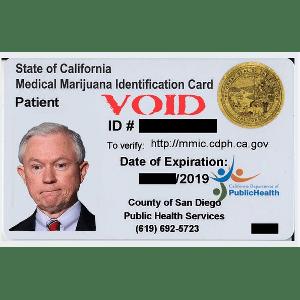 Sample medical marijuana card