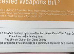 Lori Saldaña and the Lincoln Club? Just Say NO