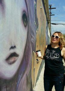 Azalea Park Murals Offer a Mini-Survey of Gloria 'Glow' Muriel's Work, Part II