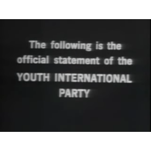 Yippie! Party Video from 1968  | Video Worth Watching
