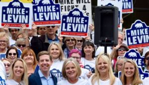 49th District Candidate Mike Levin's Candidacy Getting a Boost from ex-President Obama