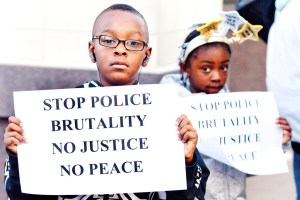 Black and Brown Families of Victims Unite on National Day Against Police Brutality