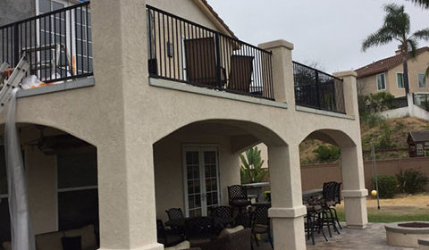 Removing Second Story Deck  Exterior Home Remodeling Services