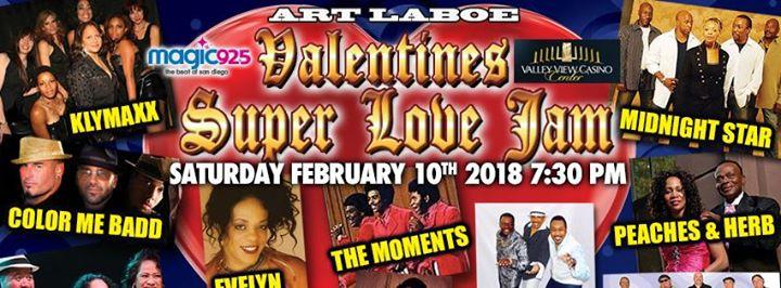 Art Laboe Valentines Super Love Jam San Diego Live Soul