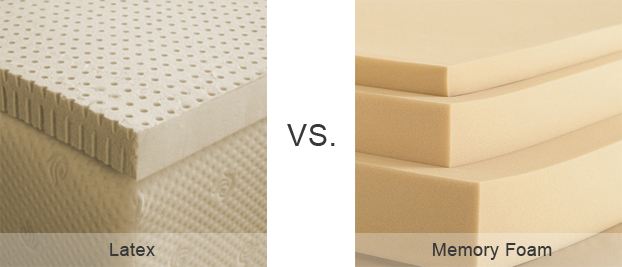 Latex Mattresses Vs Memory Foam
