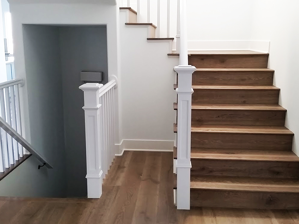 How To Install Hardwood Floors On Stairs Landing Review