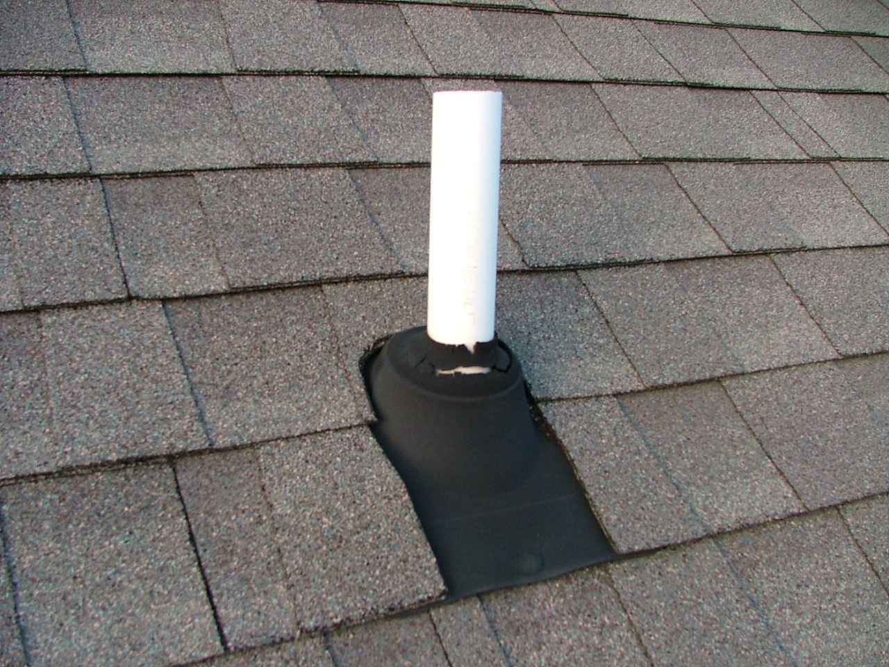 Kitchen Sink Clogged Roof Vent