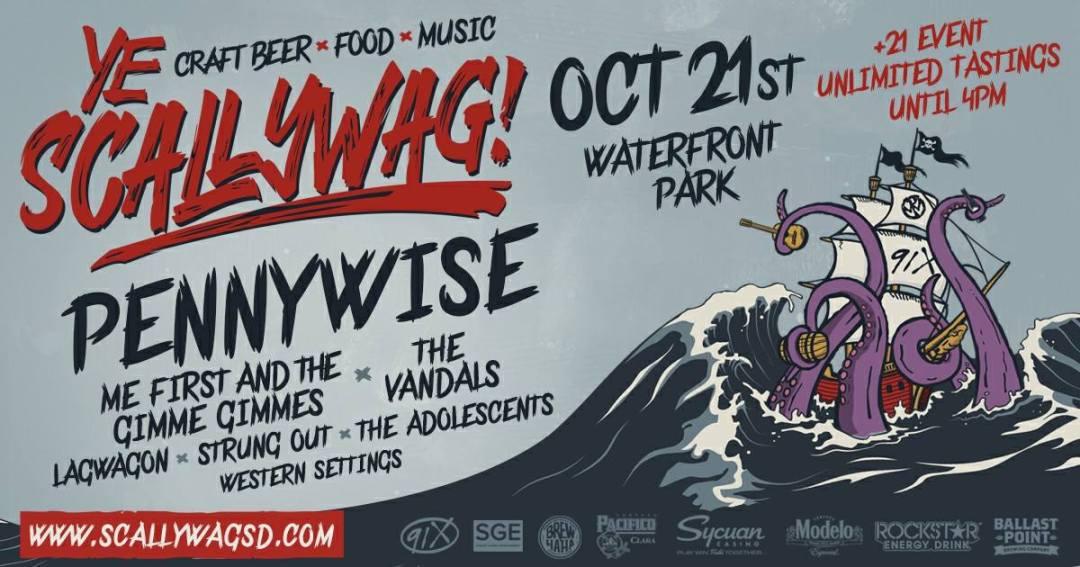 Scallywag Festival 2020.Ye Scallywag 2017 Music Beer Wine San Diego Punk