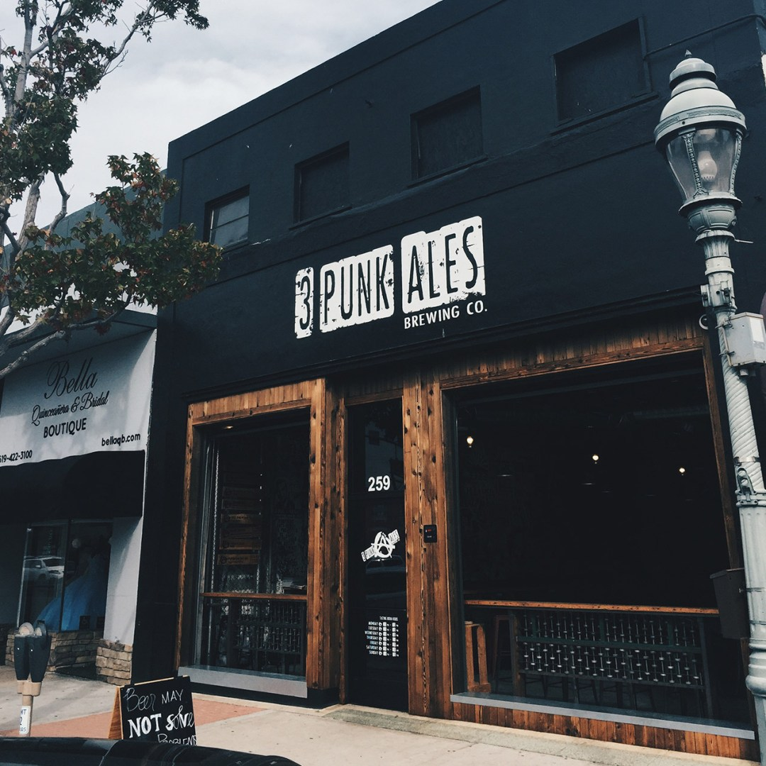 Friends 3 Punks Ales Brewing - San Diego Punk