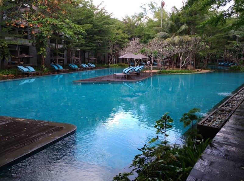 Hotel Courtyard Nusa Dua Bali sandi iswahyudi