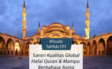 Wisuda tahfidz Daarut Tarbiyah Indonesia