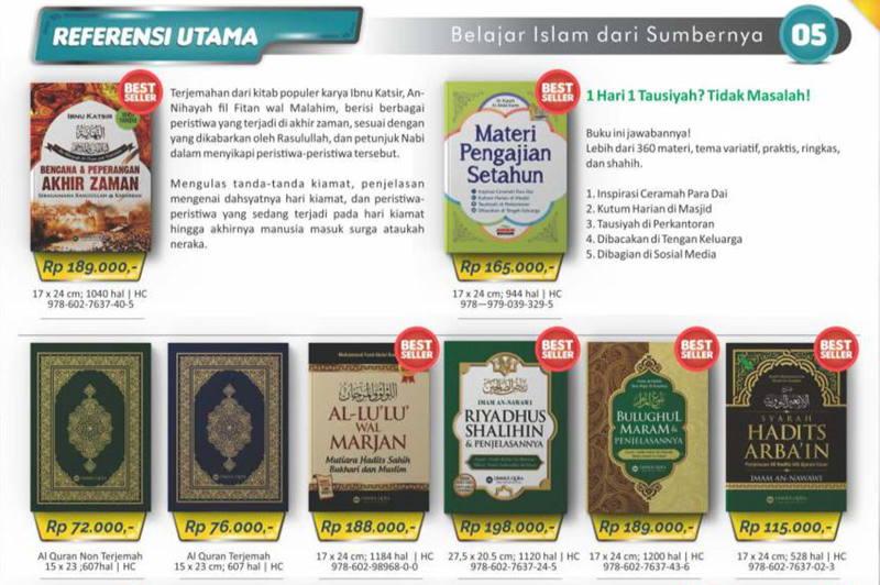 jual buku islam dan bisnis terpercaya