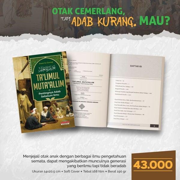 jual buku Ta'limul Muta'alim (2)