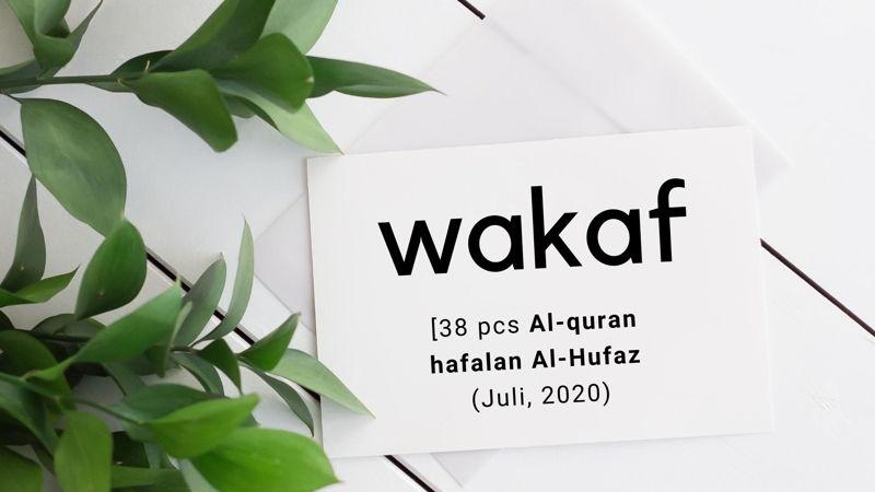 Wakaf Alquran Hafalan grosir alquran