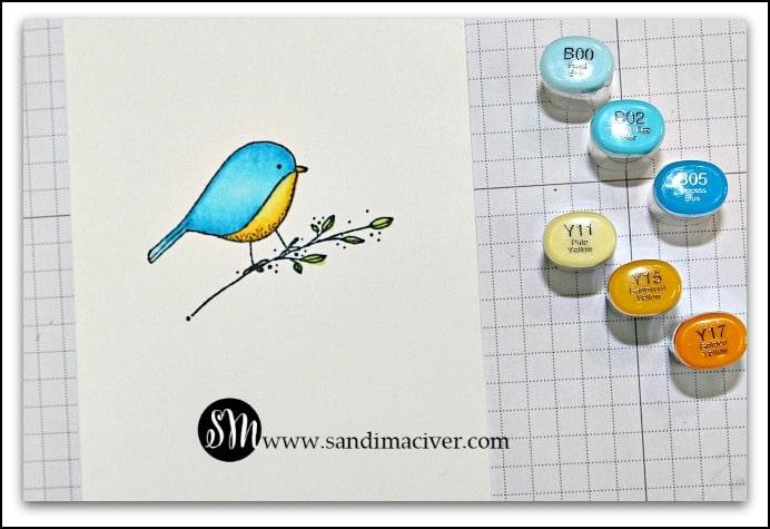 Impression Obsession Bluebird from SandiMacIver.com