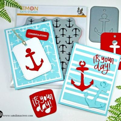 Simon Says Stamp Anchor Cards