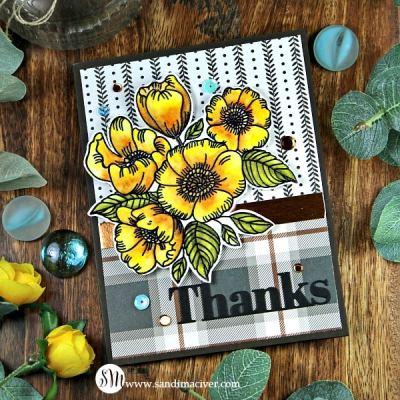 Simon Says Stamp Thankful Flowers