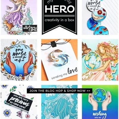 Hero Arts My Monthly Hero Card Kit
