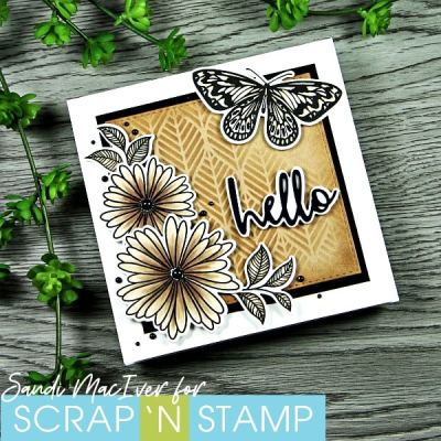 New Video – Copic Quickies – Sepia Card