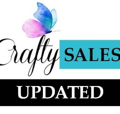 Crafty Sales and New Releases this week