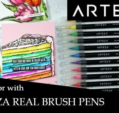 Let's Color with Arteza Real Brush Pens – New Video