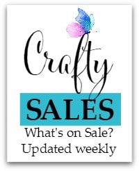 Crafty Sales and New Releases