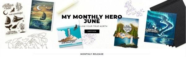 Hero Arts - June My Monthly Hero Kit