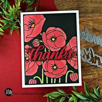 New Simon Says Stamp Poppy Bouquet