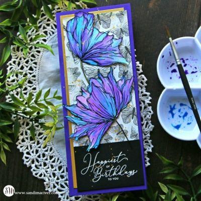 Slimline Card and Graciellie Designs