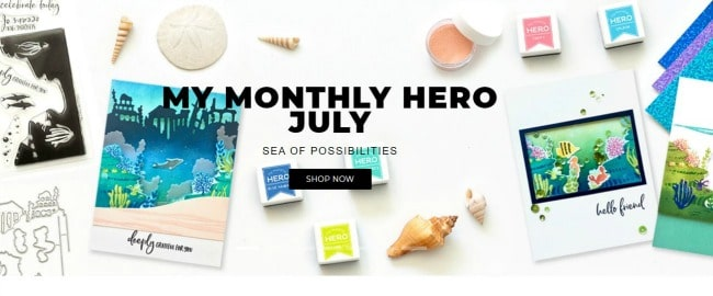 My Monthly Hero - July