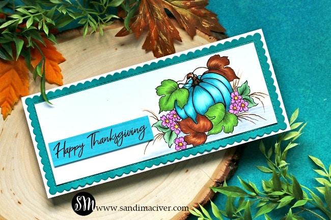 Unity Stamp Co Harvesting Thanks