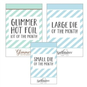 Spellbinders Glimmer and Cut