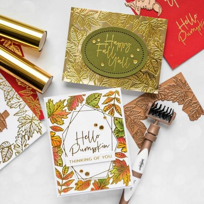 October Glimmer Foil Kit of the Month
