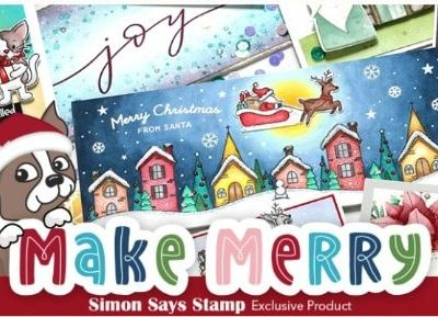 Simon Says Stamp Make Merry Release