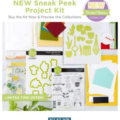 Spellbinders Take Time For You Project Kit