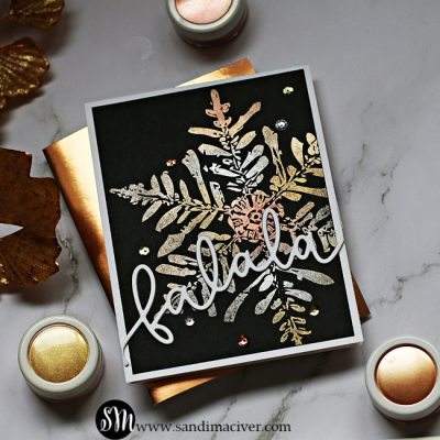 NEW VIDEO – Metallic Snowflakes with Perfect Pearls