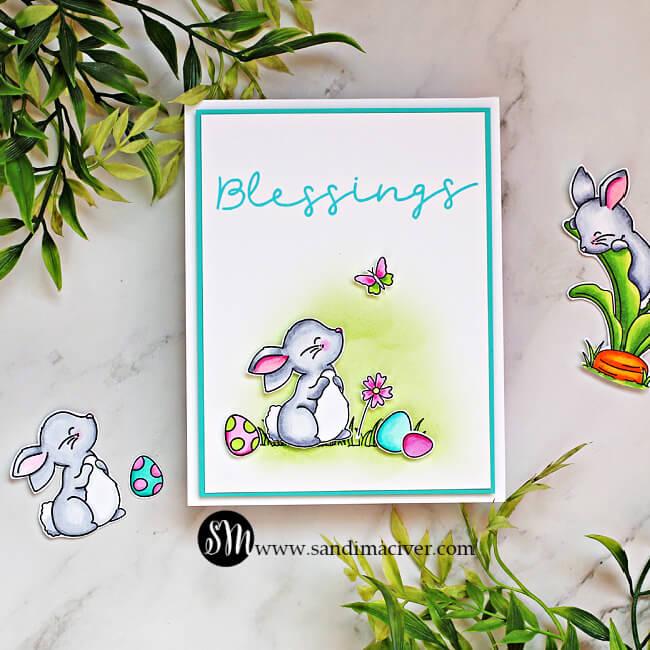 Simon Says Stamp Bunny Blessings