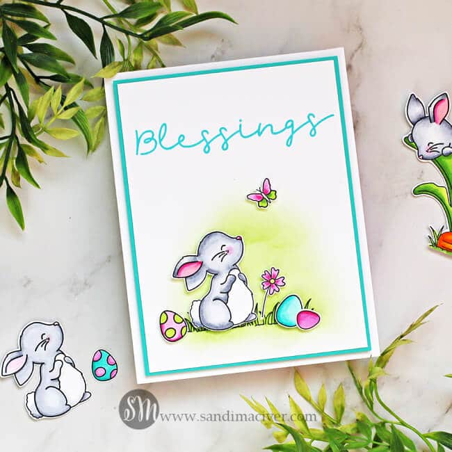 Simon Says Stamp Bunny Blessings 2 650