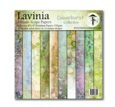 book of Lavinia dream scape papers for cardmaking sold at simon says stamp