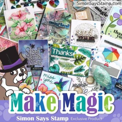 handmade greeting cards created with new cardmaking products just released from Simon Says Stamp