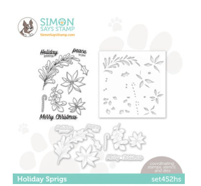 new holiday stamp and die set for card making and paper crafting from Simon Says Stamp