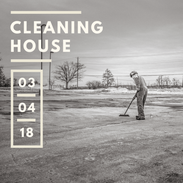 Create in Me // Cleaning House