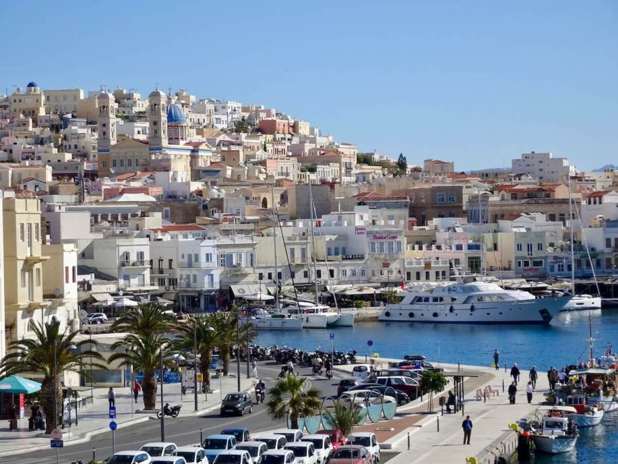 Top things to do in Syros Ermoupolis harbor, Syros, Greece