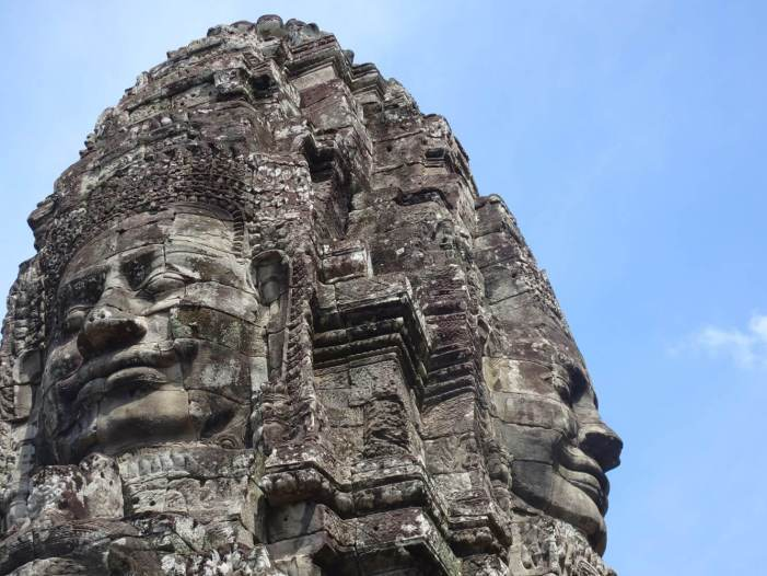 The Bayon Temple - My favorite temple in Siem Reap, Cambodia
