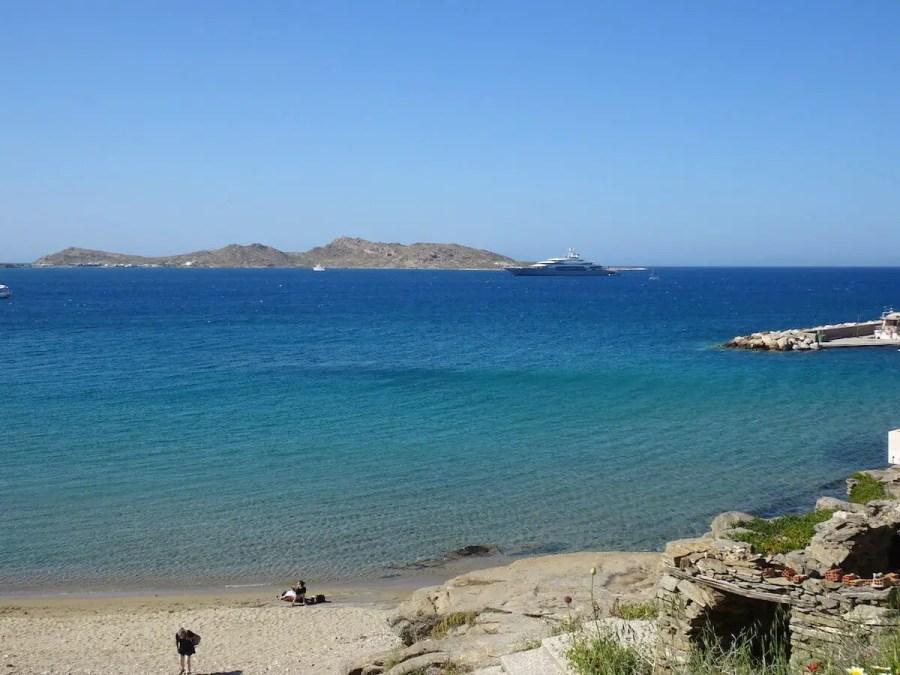 Piperi Beach Naoussa, Greece