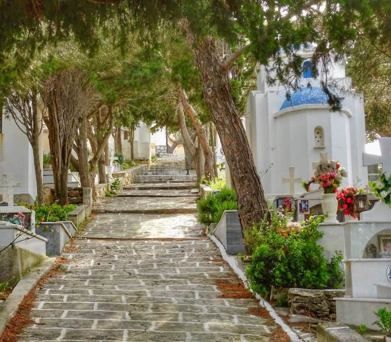 Lefkes Cemetary Things to do in Paros, Greece