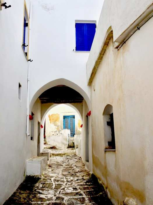 Lefkes street Things to do in Paros, Greece