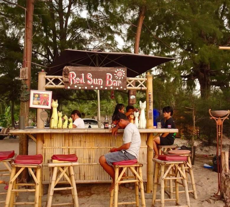 Red Sun Bar, Bangtao, Phuket-Best Areas to Stay in Phuket